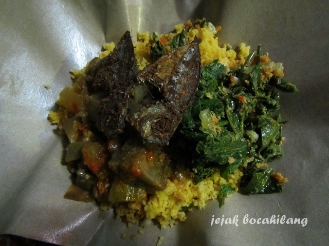 Nasi Ampok, kuliner khas Blitar