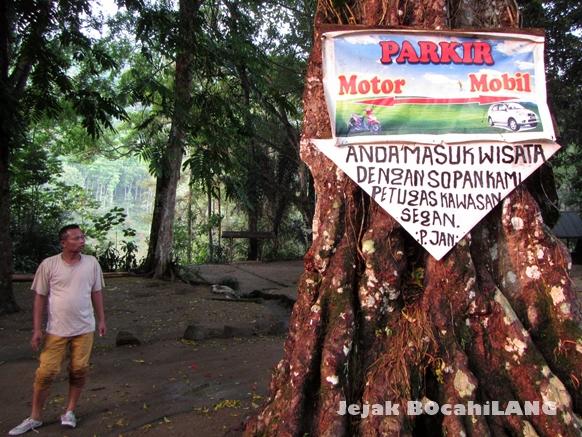 pintu masuk Rambut Monte Blitar