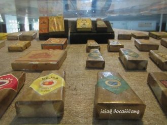 koleksi rokok kretek di Museum Kretek
