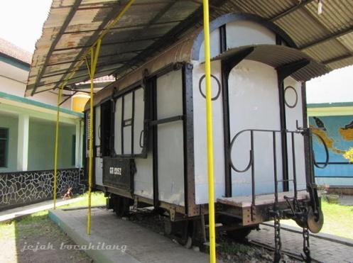 Gerbong Maut Bondowoso di Museum Brawijaya