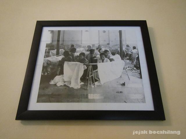 foto pengrajin batik binaan keluarga Hardo