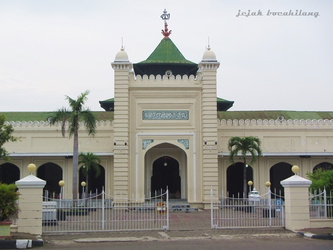 Masjid Agung Al'Jami Pekalongan dibangun tahun 1852