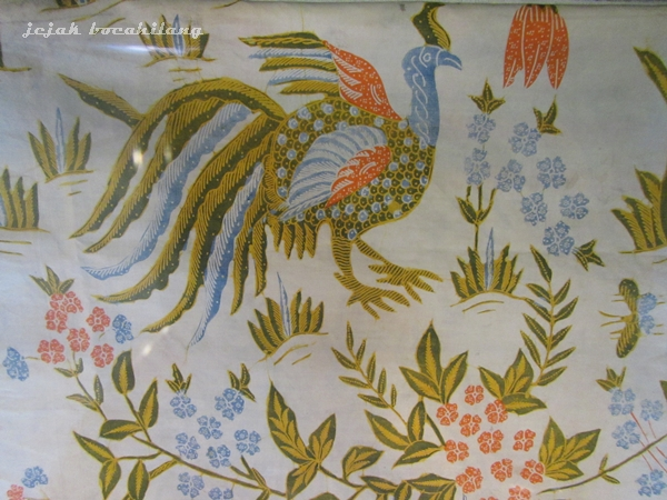 motif khas Pekalongan, Buketan Ayam Alas