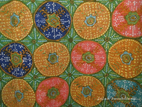 motif khas batik Pekalongan, Jlamprang