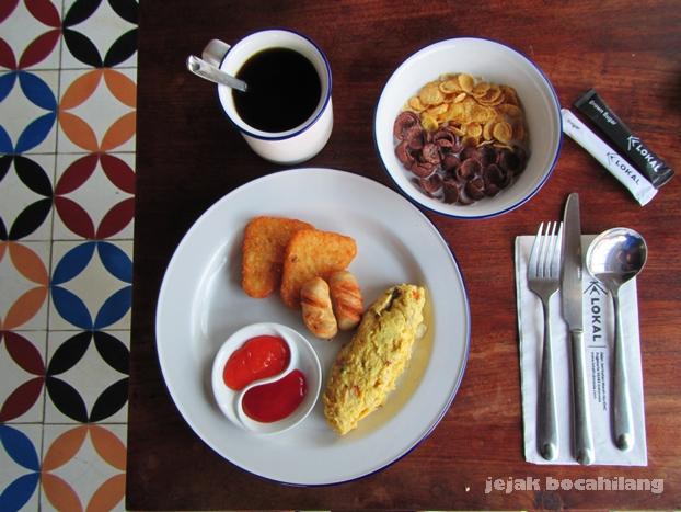 breakfast LOKAL Hotel