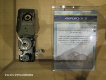 Koleksi Museum Sandi - Mesin Sandi CD 55