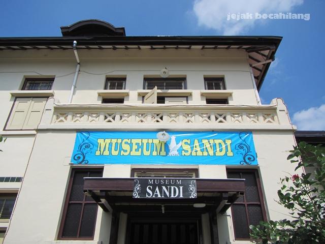 Museum Sandi, Kota Baru