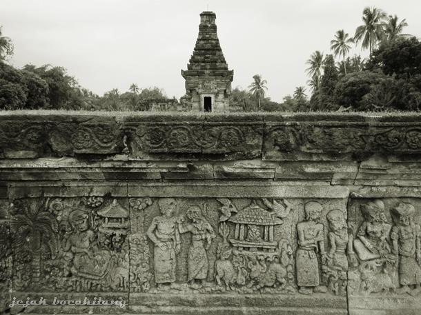 relief di Bale Agung, Candi Panataran