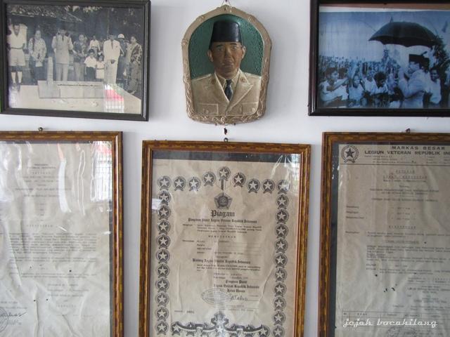 koleksi di Istana Gebang