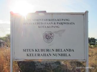 Situs Kuburan Belanda Kupang