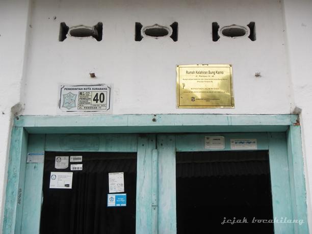 rumah kelahiran Bung Karno yang sudah resmi menjadi Bangunan cagar Budaya