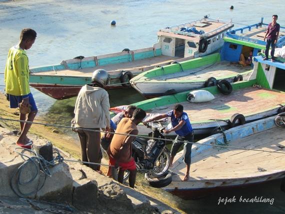 Pelabuhan Onan Batu, Pulau Semau