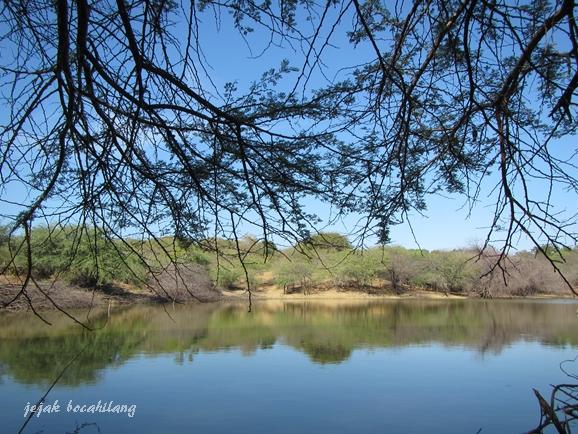 Danau tak dikenal, hikmah nyasar di jalur off-road