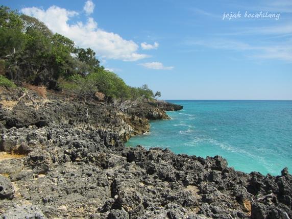 pantai karang, entah apa namanya