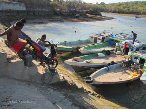 penutup perjalanan Pulau Semau yang indah
