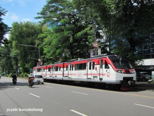 rail bus Bathara Kresna jurusan Wonogiri