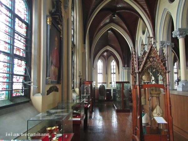ruang pertama Museum Katedral