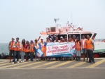 Kawan blogger dan media di Tour Tanjung Priok