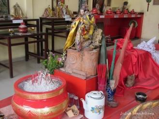 patung Qu Yuan di Klenteng Koet Goan Bio