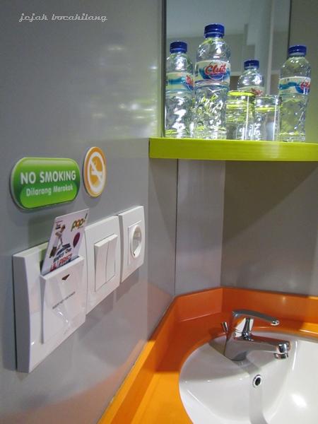 No smoking in room