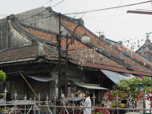 rumah khas pecinaan di Kota Tangerang