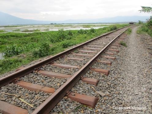 jalur kereta Ambarawa - Tuntang