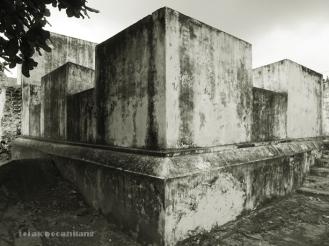 benteng di Pesanggrahan Warungboto