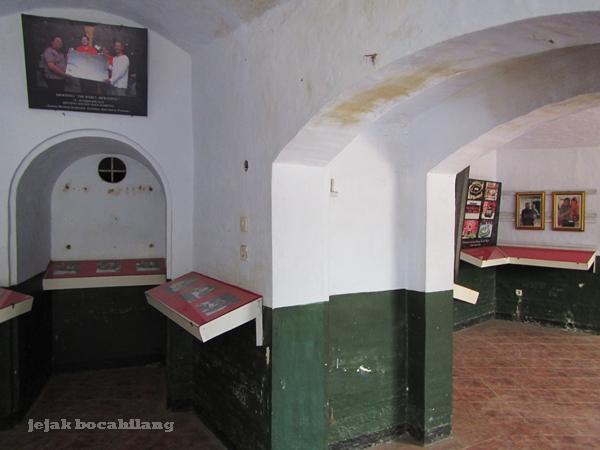 ruang pameran Benteng Van Der Wijck
