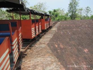 kereta wisata Benteng Van Der Wijck