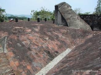 atap Benteng Van Der Wijck