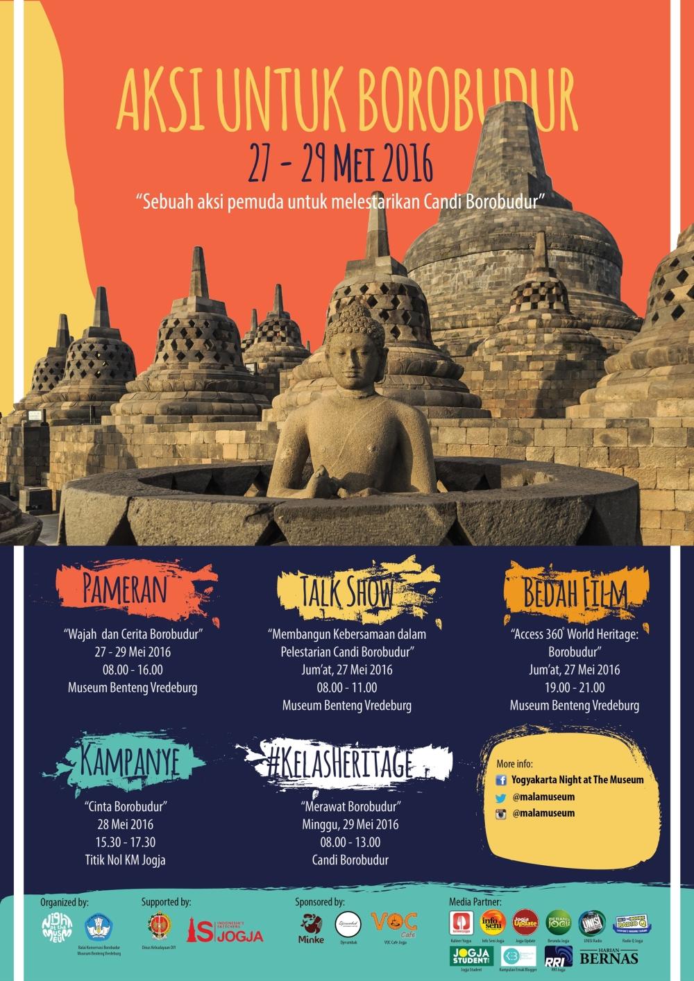 Beraksi Untuk Borobudur