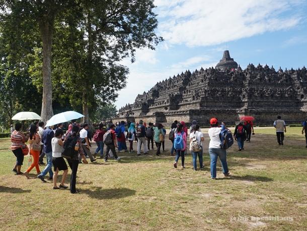 #KelasHeritage menuju Candi Borobudur