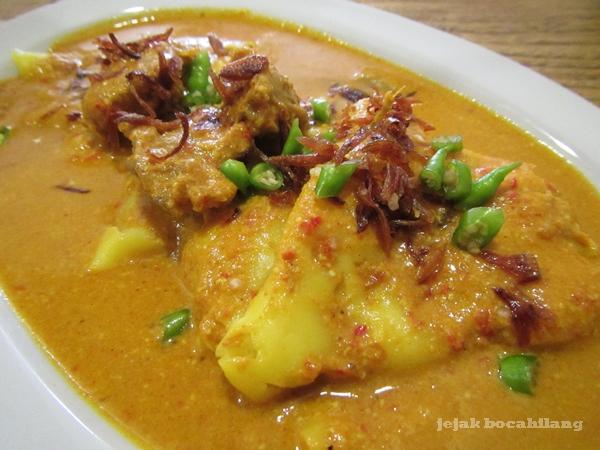 Laksan - kuliner khas Palembang