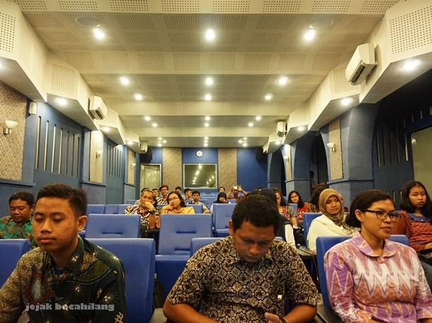 peserta talk show Membangun Kebersamaan Dalam Pelestarian Borobudur
