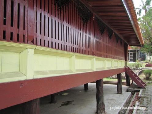 rumah Limas Museum Balaputeradewa Palembang