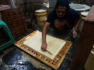 proses pembuatan tahu Kalisari