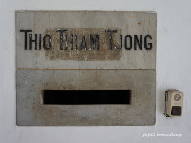 Thio Tjam Tjong house Candi baru
