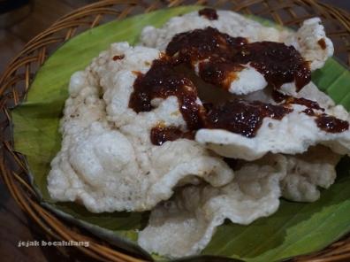 Kerupuk pedas Cirebon
