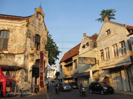 Spiegel Kota Lama Semarang