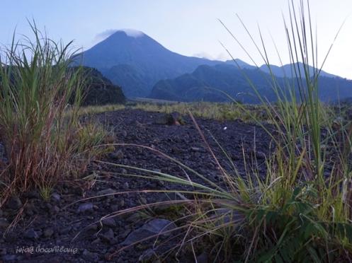 Gunung Merapi dari Kaliadem
