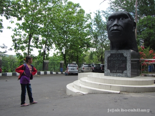 Museum Manusia Purba Klaster Krikilan - Sangiran