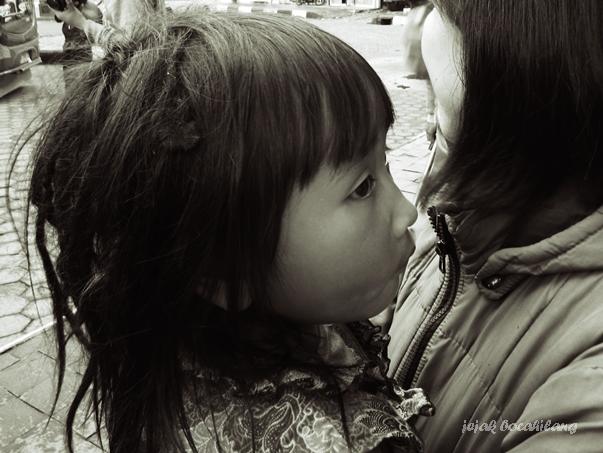 anak rambut gimbal Dieng Wonosobo