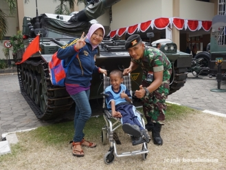 prajurit KODAM IV/ Diponegoro