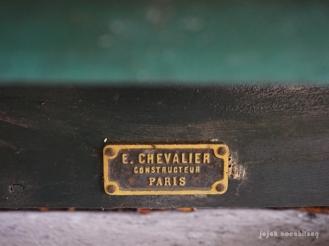 gerbong kereta buatan E. Chevalier Constructeur Paris