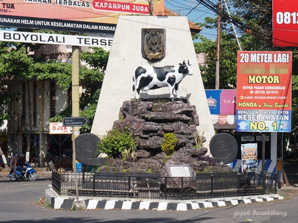 patung sapi di Boyolali