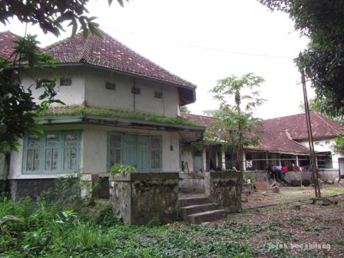 rumah dinas Pabrik Gula Delanggu