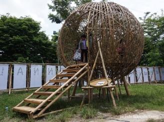 Bamboo Bawana - Bamboo Biennale 2016