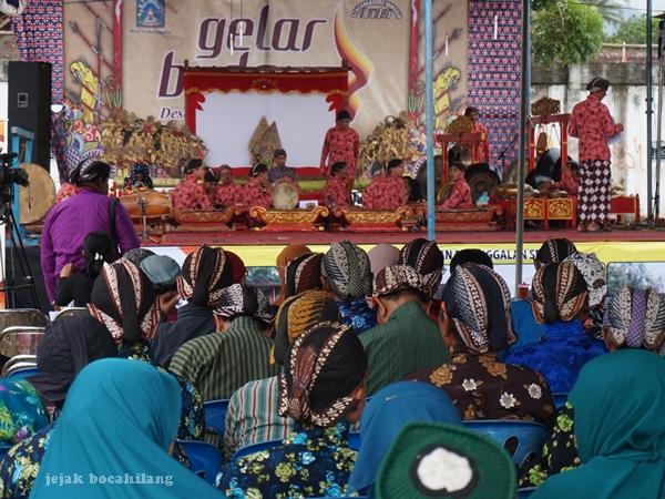 panggung Gelar Budaya Desa Sendangagung