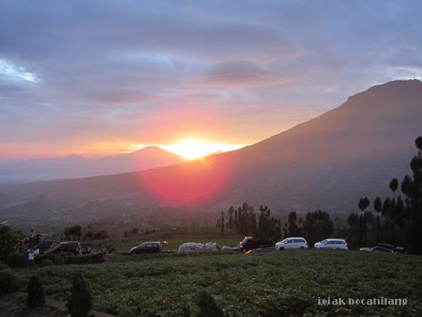 sunrise Posong Temanggung