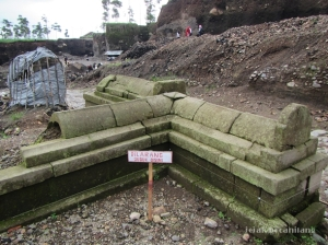 pagar batu Situs Liyangan
